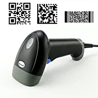 Kercan M4 Wired USB 2D QR PDF417 Data Matrix Barcode Scanner CCD Bar Code Reader