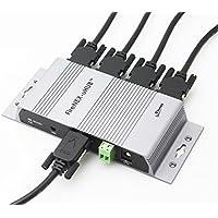 FireNEX-uHUB, USB 3.0 SuperSpeed Industrial Mountable 4 Port Hub