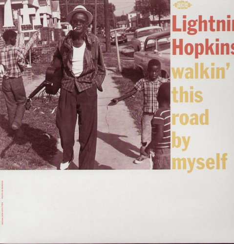 Vinilo : Lightnin' Hopkins - Walkin' This Road By Myself (United Kingdom - Import)