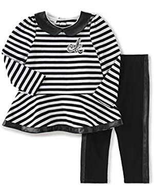 Baby Girls' 2 Piece Tunic/Leggings Set