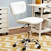 Chloe Mid-Back Modern & Contemporary Desk Chair