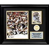 Frameworth Pittsburgh Penguins PhotoCard with Piece of 2009 Stanley Cup Net