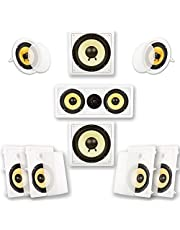 Acoustic Audio HD728 7.2 Home Theater Bocina System (White)