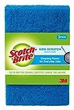 Scotch-Brite Non-Scratch Scour Pads, 3 Pads