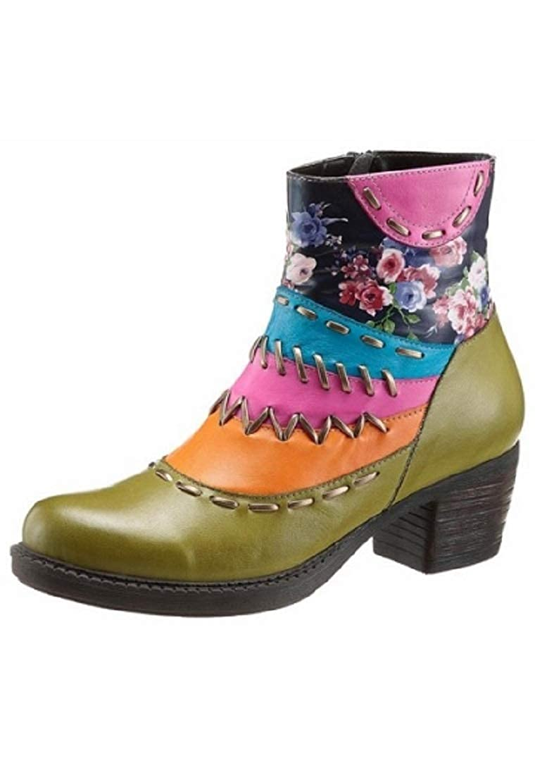 Gemini Damen Schuhe Stiefelette Stiefel Leder Größe 39