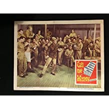 Call Me Mister 1951 Original Vintage Lobby Card Movie Poster, Betty Grable, War, WW2, Army, Soldier