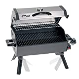 Portable Propane Bbq Gas Grill 14,000 Btu Porcelain Grid with Support Legs and Grease Pan by MARTIN