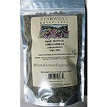 BlueArrowExpress® Lobelia inflata Herb Cut W/C- Quit Smoking with Smart Herb 4oz Sealed Pk