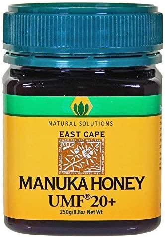Natural Solutions Manuka Honey UMF 20 Certified East Cape Te Araroa New Zealand (Small)