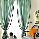 Melaluxe 4 Pack Curtain Tiebacks - Natural Cotton
