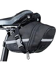 XSRTT Bolsa de Sillín de Asiento de Bicicleta, Bicicleta de Ciclismo al Aire Libre Conveniente Debajo de los Paquetes de Asiento Bolsa de Cola, Bike Seat Saddle Bag for Outdoor Cycling