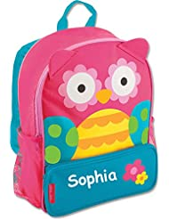 Stephen Joseph Personalized Little Girls Sidekick Owl Backpack With Name