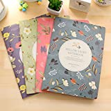 XIDUOBAO Best Gift Cute Journal Notebook Diary Gifts for Girl Women,Special Fresh Office Notebook IdeaBook JournalBook Special Designed Mini Notebook High Quality PocketBook Special Notebook Personalized Notebook.Set of 4 pcs.