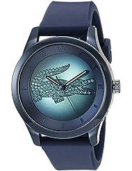 Lacoste Womens 2000919 Victoria Analog Display Japanese Quartz Dark Blue Watch
