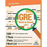 GRE Words In Context: List 1 (Test Prep Series)