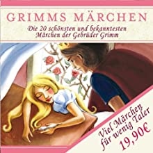 Grimms Märchen - 10er Box Hörbuch von Brüder Grimm Gesprochen von: Joachim Nottke, Dieter Kursawe, Klaus Miedel