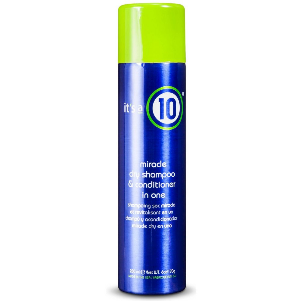 it's a 10 Miracle Dry Shampoo & Conditioner in One, 6 oz