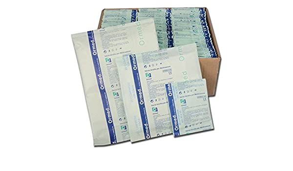 Gima 34762 gasa estéril algodón, 100 unidades: Amazon.es: Industria, empresas y ciencia