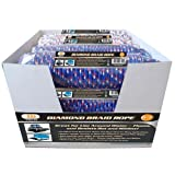 IIT 48740 100' x 1/4'' Diamond Braid Rope