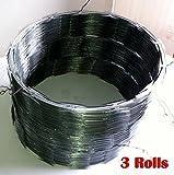 Razor Wire Razor Ribbon Barbed Wire 18'' 3 Coils 50 Feet Per Roll