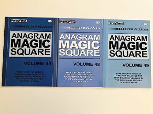 Issue numbers 44 48 and 49 of Anagram Magic Squares from Penny Press ()
