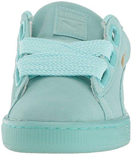 Puma Vrouwen Suede Hart Reset Wns Fashion Sneaker Aruba Blue-aruba Blue
