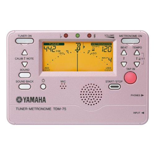 YAMAHA Tuner Metronome TDM 75PP platinum