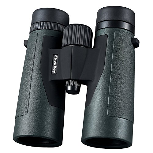 Eyeskey 10x42 High Powered Magnification Binoculars with Bri