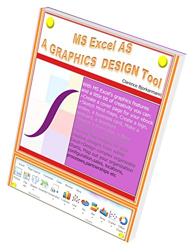 - MS Excel as a Graphics Design Tool: MS Excel How to... Using Microsoft Excel for creating a variety of graphics - that do not involve numbers or calculations – for your personal or business projects