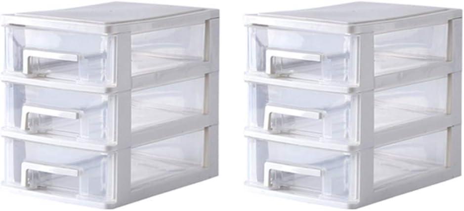 TOPBATHY - Caja de Almacenamiento Transparente con cajones para ...