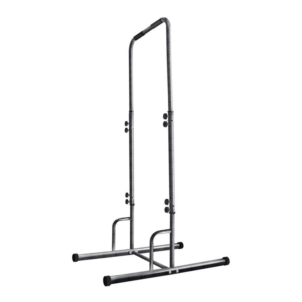 調節可能な水平バープッシュアップスタンドプルアップポール多機能フィットネス機器マウサーホームキッズ水平バー (Color : Black, Size : 100x75x230cm) 100x75x230cm Black B07Q13MGX3