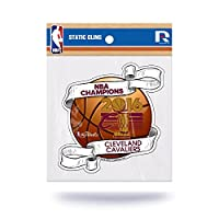 NBA Cleveland Cavaliers 2016 Champions Die Cut Static Cling with Logo Cut Out