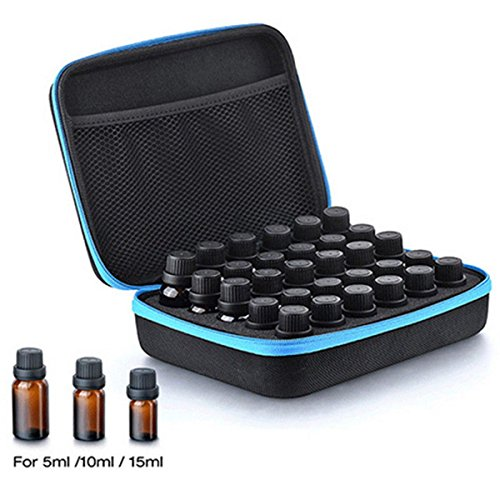 8b0717e9e3 Skymore 30 Essential Oil Storage Carrying Zipper Case For 5ml