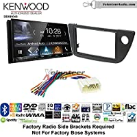 Volunteer Audio Kenwood DDX9904S Double Din Radio Install Kit with Apple CarPlay Android Auto Bluetooth Fits 2002-2006 Acura RSX