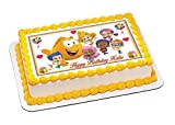 bubble guppies sheets - Bubble Guppies (Nr3) - Edible Cake Topper - 10