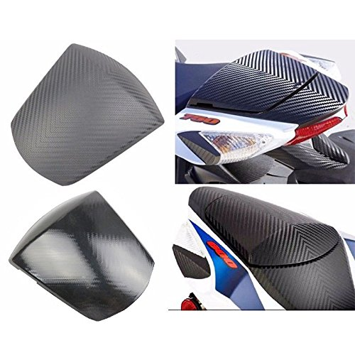 Carbon Pattern Rear Solo Seat Cowl for 2011-2018 Suzuki GSXR GSX-R 600 750 (White) by Tmsuschina