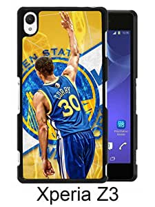 Sony Xperia Z3 Case ,Fashion And Unique Designed Sony Xperia Z3 Case With Stephen Curry Black Hight Quality Cover