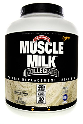 CytoSport Collegiate Muscle Milk Cookies 'N Creme 5lb.