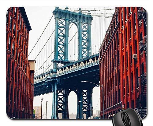 - Mouse Pads - George Washington Bridge New York City Landmark