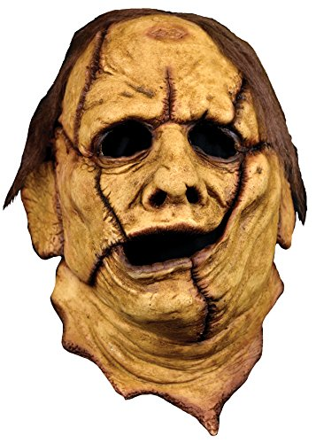Texas Chainsaw Massacre Costumes (Trick Or Treat Studios Adult Texas Chainsaw Massacre Leatherface 3/4 Mask)