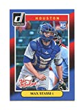 2014 Donruss The Rookies #12 Max Stassi Houston Astros rookie card - Mint Condition Ships in Brand New Holder