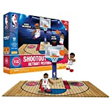 Detroit Pistons OYO Sports NBA Court Shootout Set 61PCS with 2 MInifigures