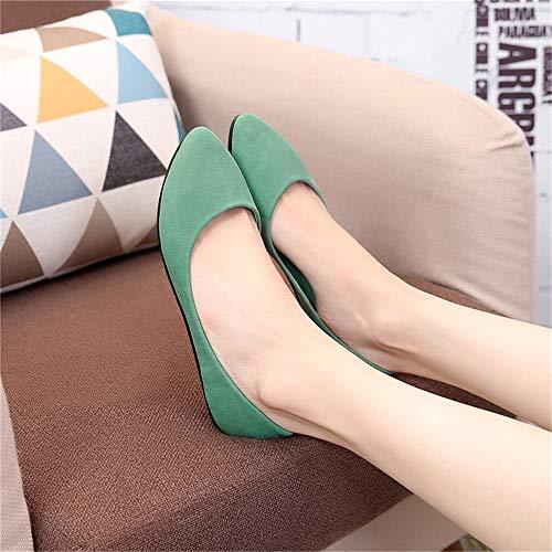 Planos Oficina Zapatos Las Moda Trabajo Antideslizantes de Zapatos Maternidad de Zapatos Puntiagudos señoras FLYRCX Boca Casual A Baja de de Zapatos Bpqfp