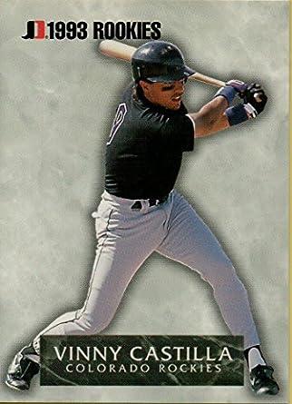 Vinny Castilla Rookie Baseball Card 1993 Jimmy Dean