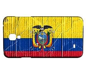 Funda Carcasa para Galaxy S4 Mini Bandera ECUADOR 04