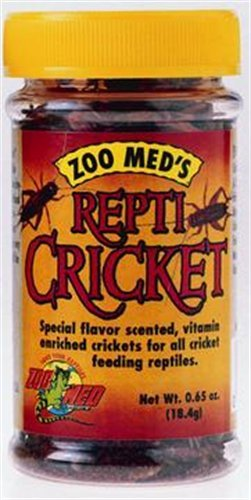Zoo Med Laboratories SZMZM40 Repti-Crickets Pet Food, 0.65-Ounce, My Pet Supplies