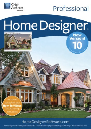 Chief Architect Home Designer Pro 10 [Download] by Chief Architect