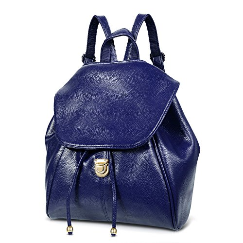 Leather Backpack Handbags Fashion Schoolbag product image