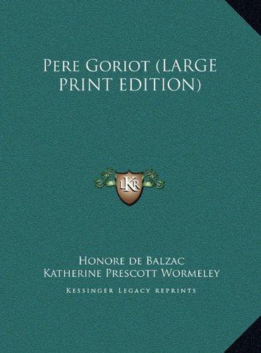 Pere Goriot [Pdf/ePub] eBook