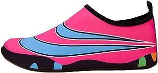 Zapatos Secado Rapido,Piel Resistente Al Desgaste Unisex Deportes Playa Al Aire Libre Clásico Secado Rápido Ligero Canotaje, Rosa, 36/37
